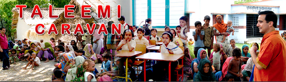 taleemi-caravan, Muslim Dalit  girls education programe by Dr.Azim Khan